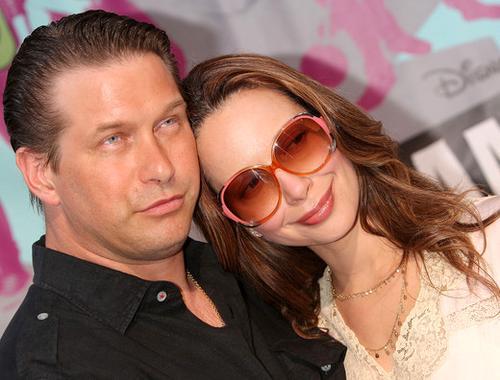 Стивен Болдуин с женой