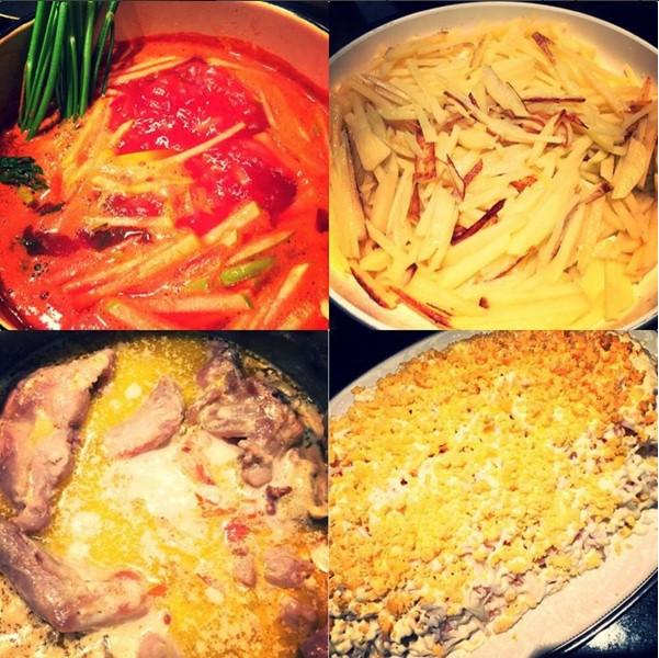 Судзиловская готовит