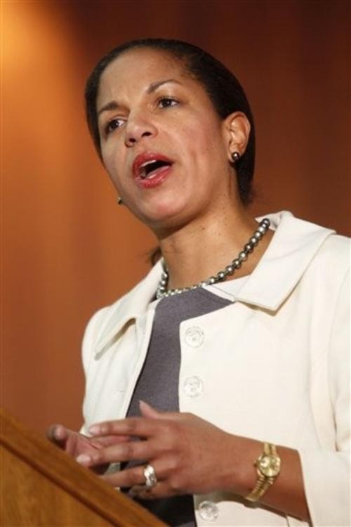 8. Сьюзан Райс (Susan Rice) - посол США в ООН
