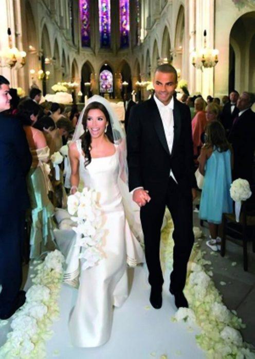 Свадьба Евы Лонгории и Хосе Антонио Бастона