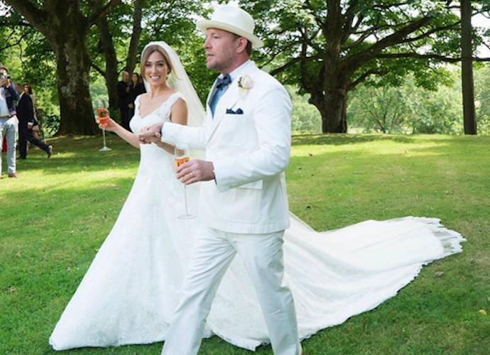 Свадьба Гая Ричи и Джеки Эйнсли