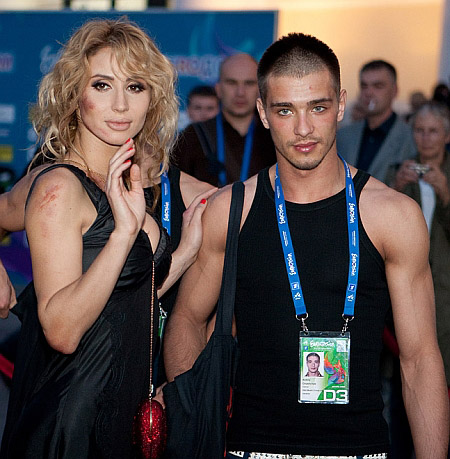 Светлана Лобода и Андрей Царь