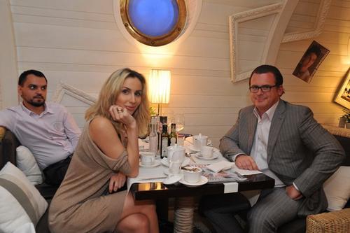 Светлана Лобода на ужине с победителем благотворительного аукциона