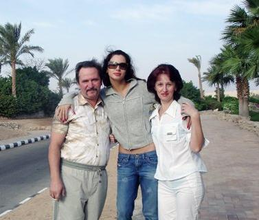 Светлана Лобода с мамой Натальей Васильевной и папой Сергеем Васильевичем