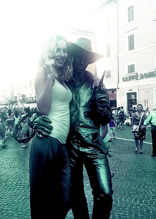 Светлана Лобода на отдыхе в Италии