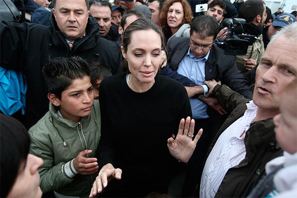 Свежий снимок Анджелины Джоли