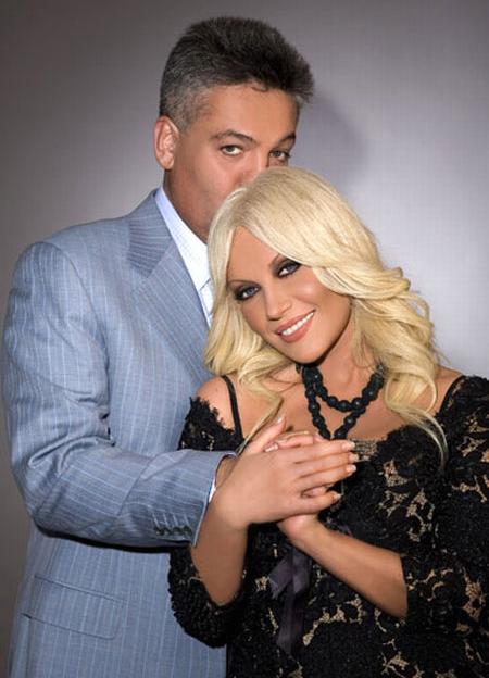 Таисия Повалий с мужем и продюсером Игорем Лихутой, с которым она живет уже 15 лет