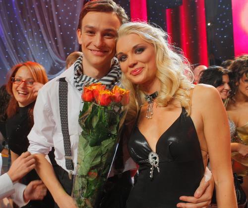 Лидия Таран со своим партнером