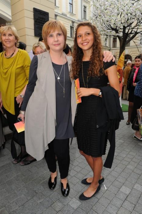 Татьяна Догилева и её дочь