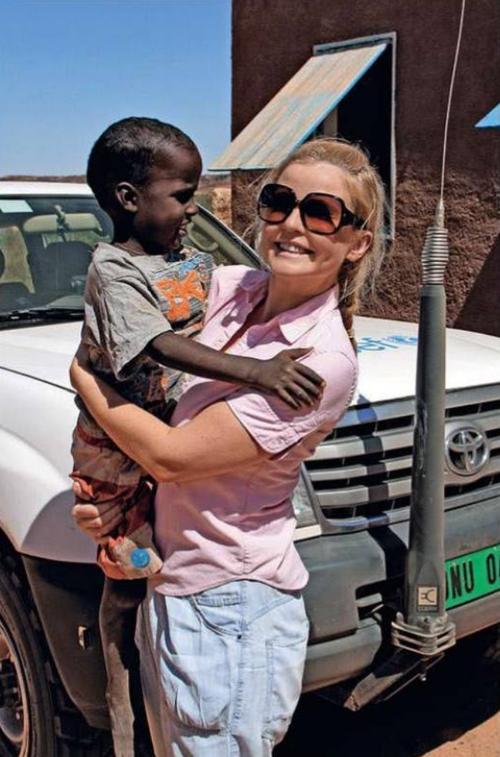 Татьяна Арно в Мавритании