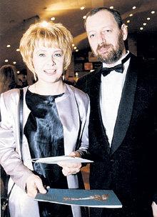 Звезда с бывшим мужем Михаилом Мишиным