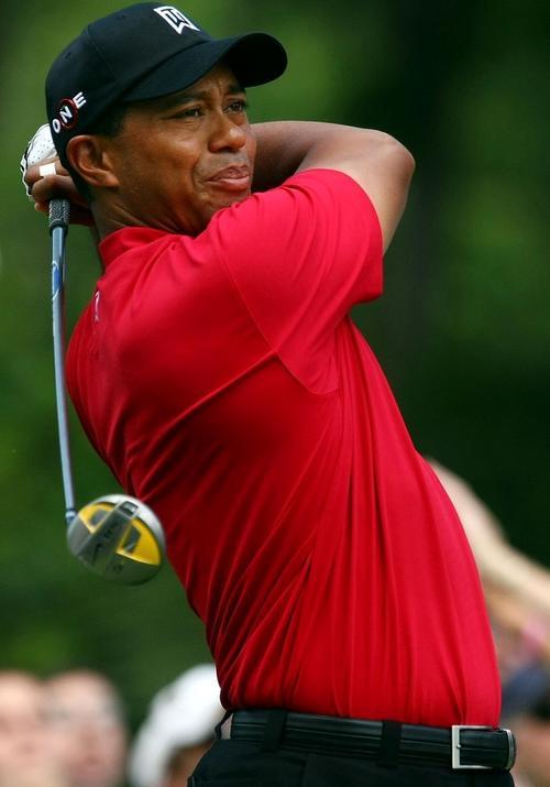 Пятое место занял опять-таки американец - известный гольфист Тайгер Вудс