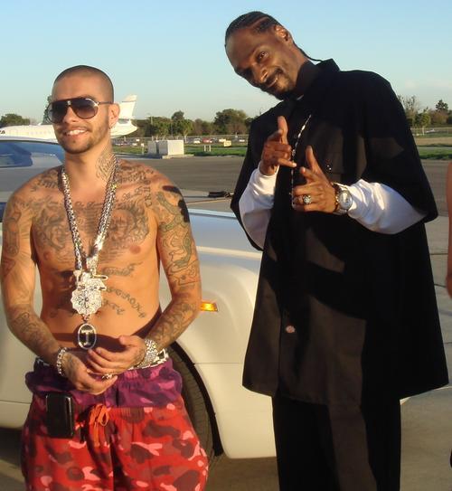 Тимати и американский рэпер Snoop Dogg