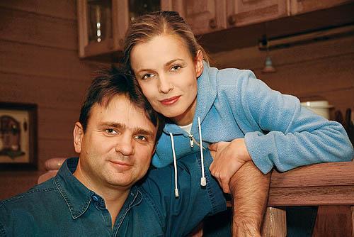 Тимур Кизяков с супругой Еленой