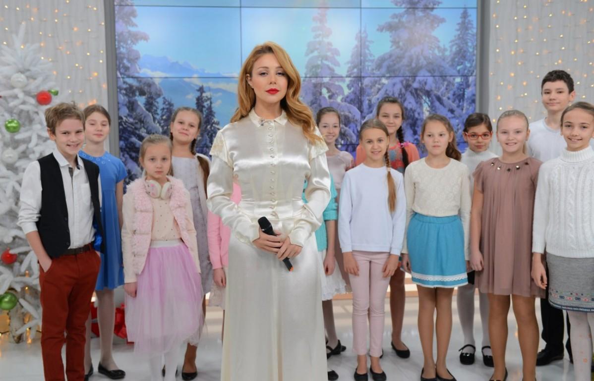 Тина Кароль и детский хор