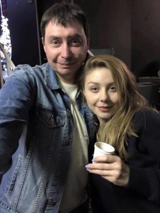 Тина Кароль и Михаил Комаровский