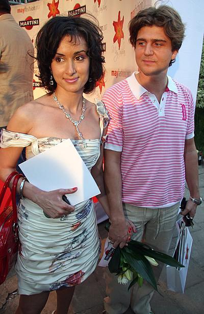 Тина Канделаки с мужем Андреем