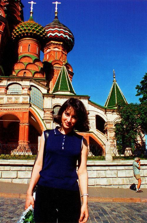 Тина Канделаки в начале своей карьеры в Москве