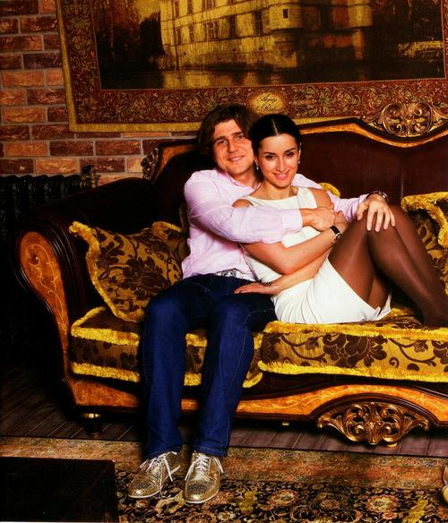 Тина Канделаки с бывшим супругом Андреем Кондрахиным