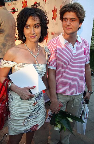 Тина Канделаки и Андрей Кондрахин