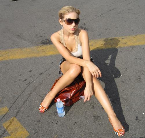 Тина Кароль на отдыхе