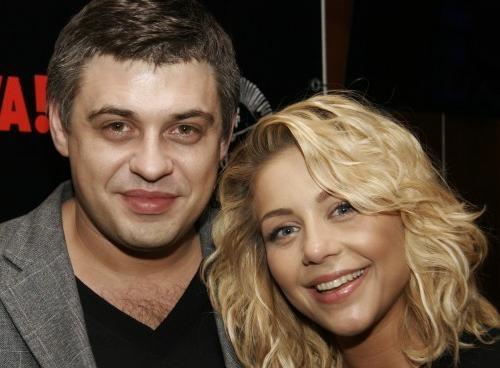 Тина Кароль с мужем Евгением Огиром