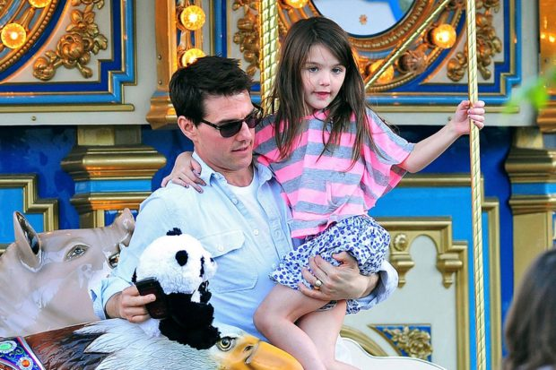 Том Круз и дочь Сури