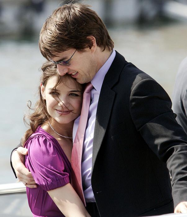 Том Круз и Кэти Холмс