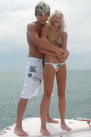 Влад Топалов начал встречаться с Амели, когда той было всего 16 лет