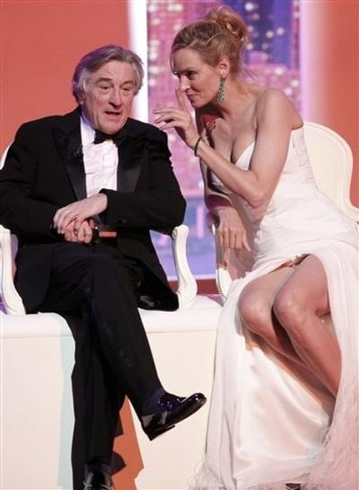 Ума Турман / Uma Thurman и Роберт Де Ниро / Robert De Niro