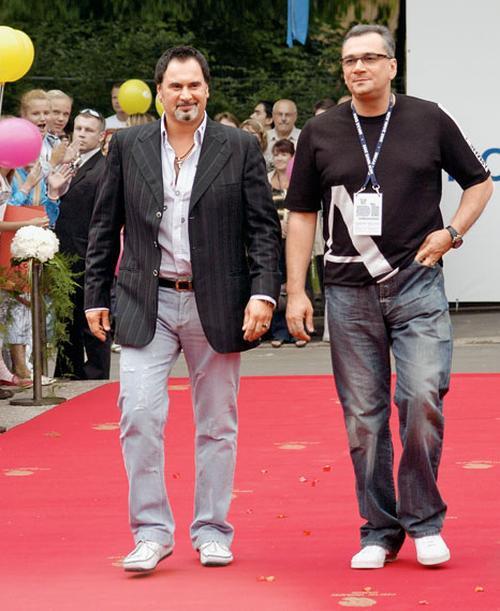 Валерий Меладзе со своим братом Константином Меладзе