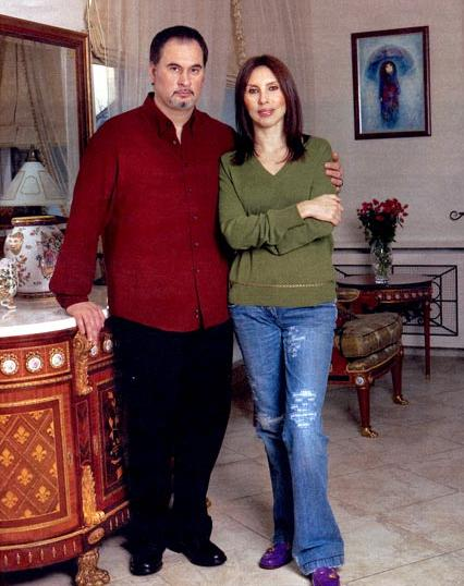 Валерий Меладзе с экс-супругой Ириной