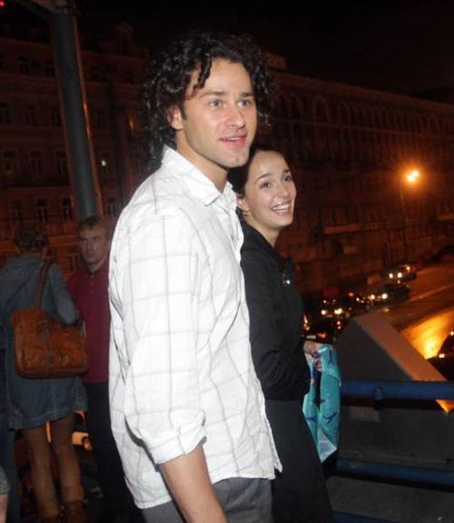 Валерия Ланская с женихом Андреем