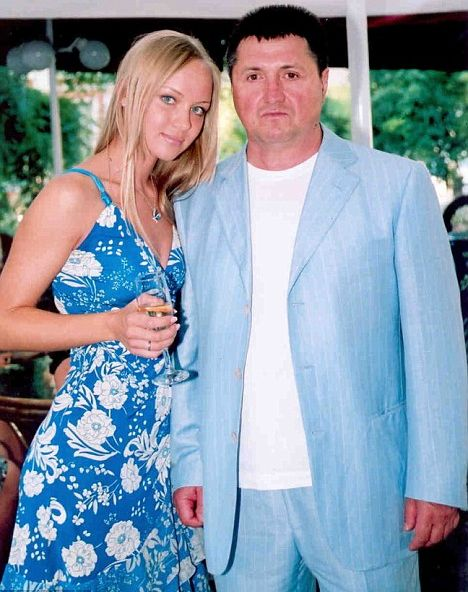 Валерий Кравченко с дочерью Викторией. Девушке приятно чувствовать себя настоящей Сталлоне