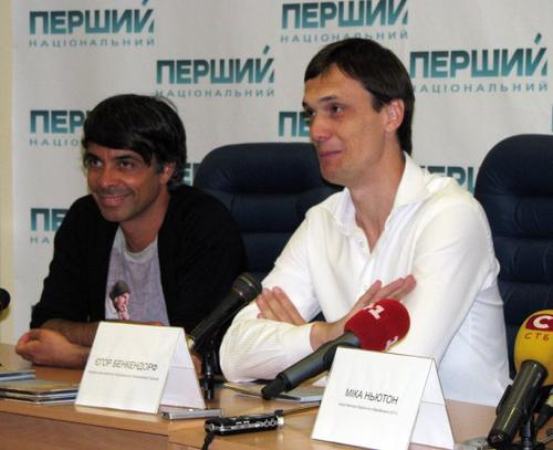 Валид Арфуш и Егор Бенкендорф