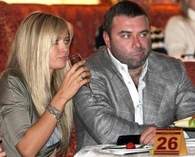 Вера Брежнева с мужем Михаилом Киперманом