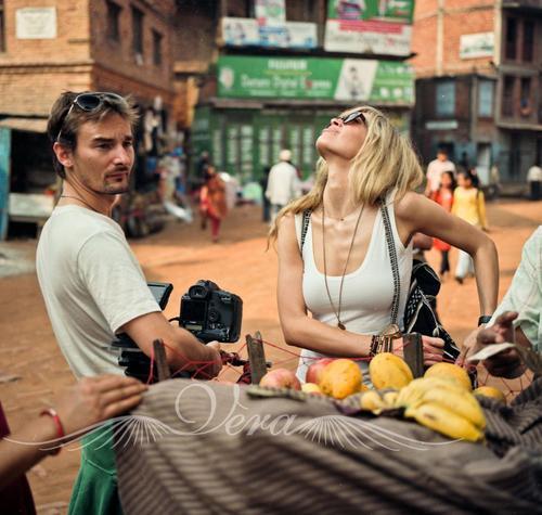 Алан Бадоев и Вера Брежнева в Непале