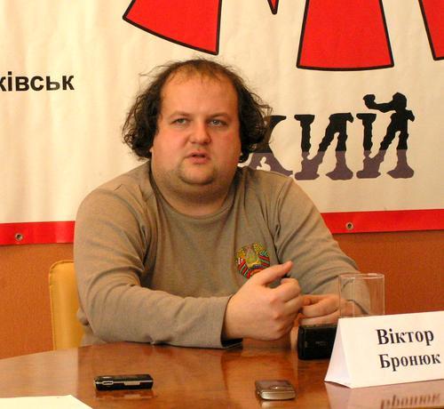 Лидер группы «ТІК» Виктор Бронюк