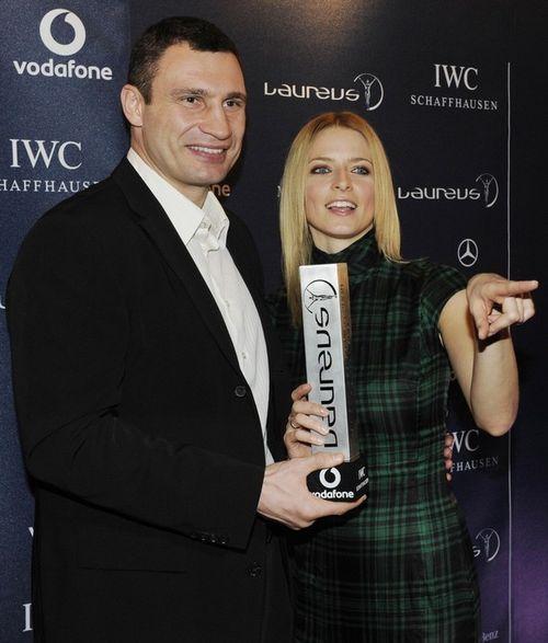 Виталий Кличко и немецкая модель Ева Падберг