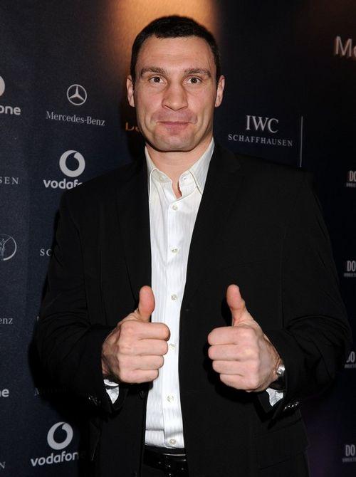 Виталий Кличко на вручении премий Laureus Awards