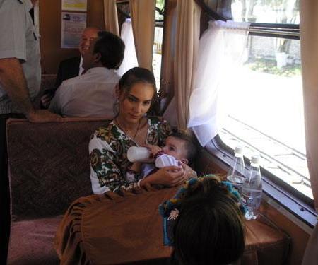 Виталина с детьми