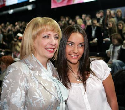 Виталина Ющенко с мачехой - Катериной Ющенко