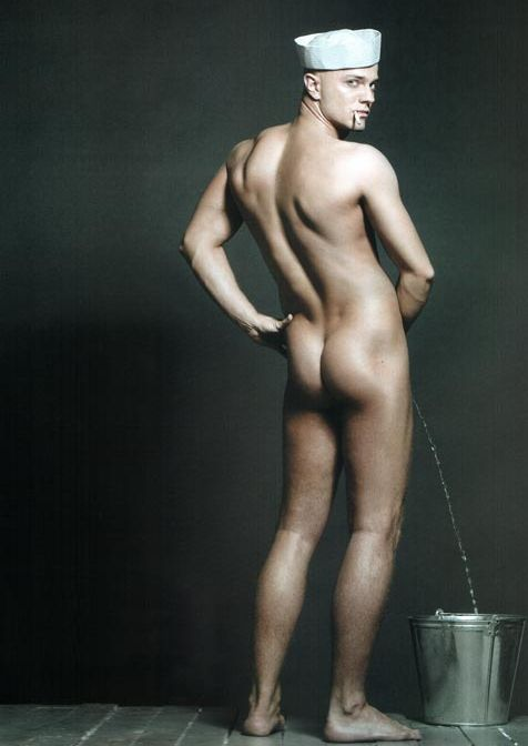 Влад Яма в стиле «ню» в исполнении одного из популярных глянцевых фотографов