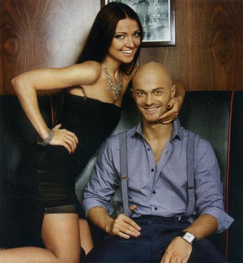 Влад Яма со своей девушкой Лилианой
