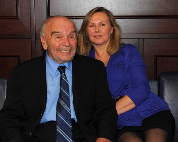 Владимир Шаинский с женой Светланой