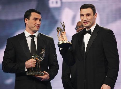 Владимир и Виталий Кличко