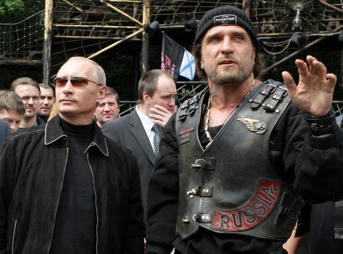 Владимир Путин с Хирургом