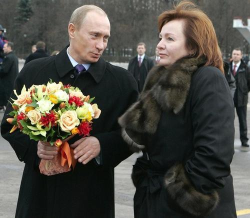 Владимир Путин с супругой Светланой