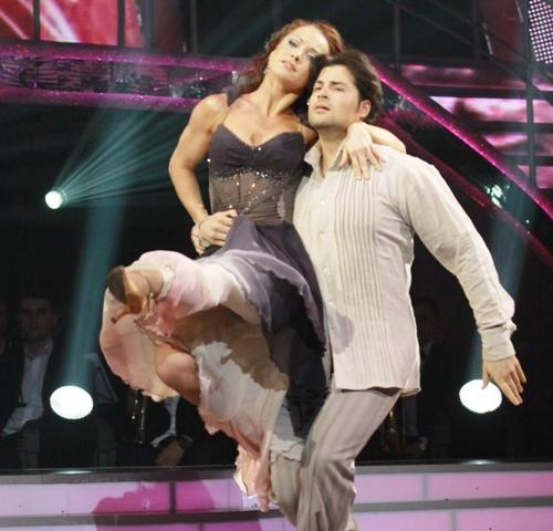 Владимир Ткаченко и Ирина Лещенко также не смогли стать победителями шоу «Танці з зірками», заняв третье место