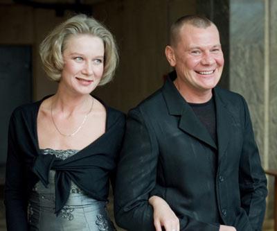 Дарья Михайлова и Владислав Галкин